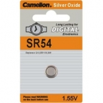 Camelion Buttoncell SR54 BP1, 1-pack