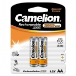 Camelion Rechargeable Batteries Ni-MH (NH-AA2500BP2) R06 AA, 2500 mAh, 2-