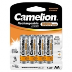 Camelion Rechargeable Batteries Ni-MH, AA 4-pack, 2500mAh, incl. battery