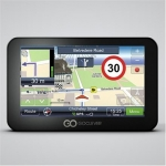 Goclever Navio 500 Slim Car Navigator with Full Europe Maps for 42 Countr
