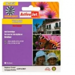 ActiveJet Brother LC985Y,Yelow ink cartridge