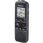 Sony ICD-PX312F Digital Voice Recorder 2GB+MicroSD Slot with FM Radio/ MP