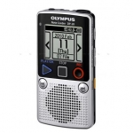 Olympus DP-20 Digital Voice Recorder (silver), 1GB internal memo (SP/HQ: