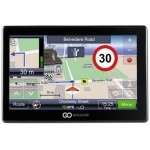 "Goclever 7066FMBT HD Slim Car Navigator Baltics/ 7,0"" LCD/ Bluetooth/ FM"