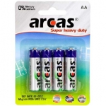Camelion Arcas Super Heavy Duty AA (LR06), 4-pack
