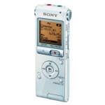 Sony ICDU-X513FW 3-in-1 Digital Voice Recorder 4GB+MicroSD Slot/ White/ F